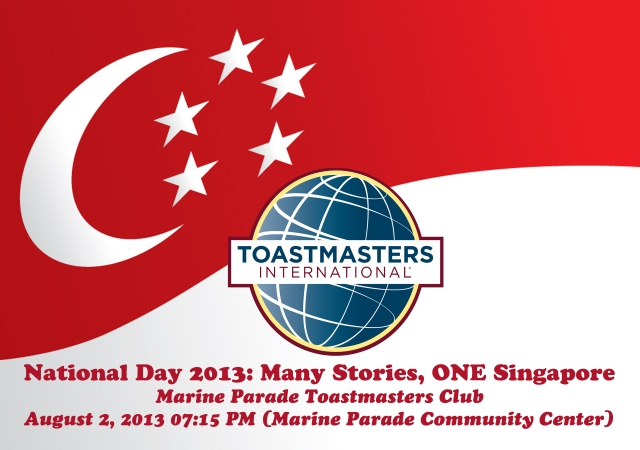 National Day-Themed Chapter Meeting: August 2, 2013